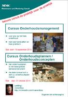 Brochure Onderhoudsmanagement Najaar 2013